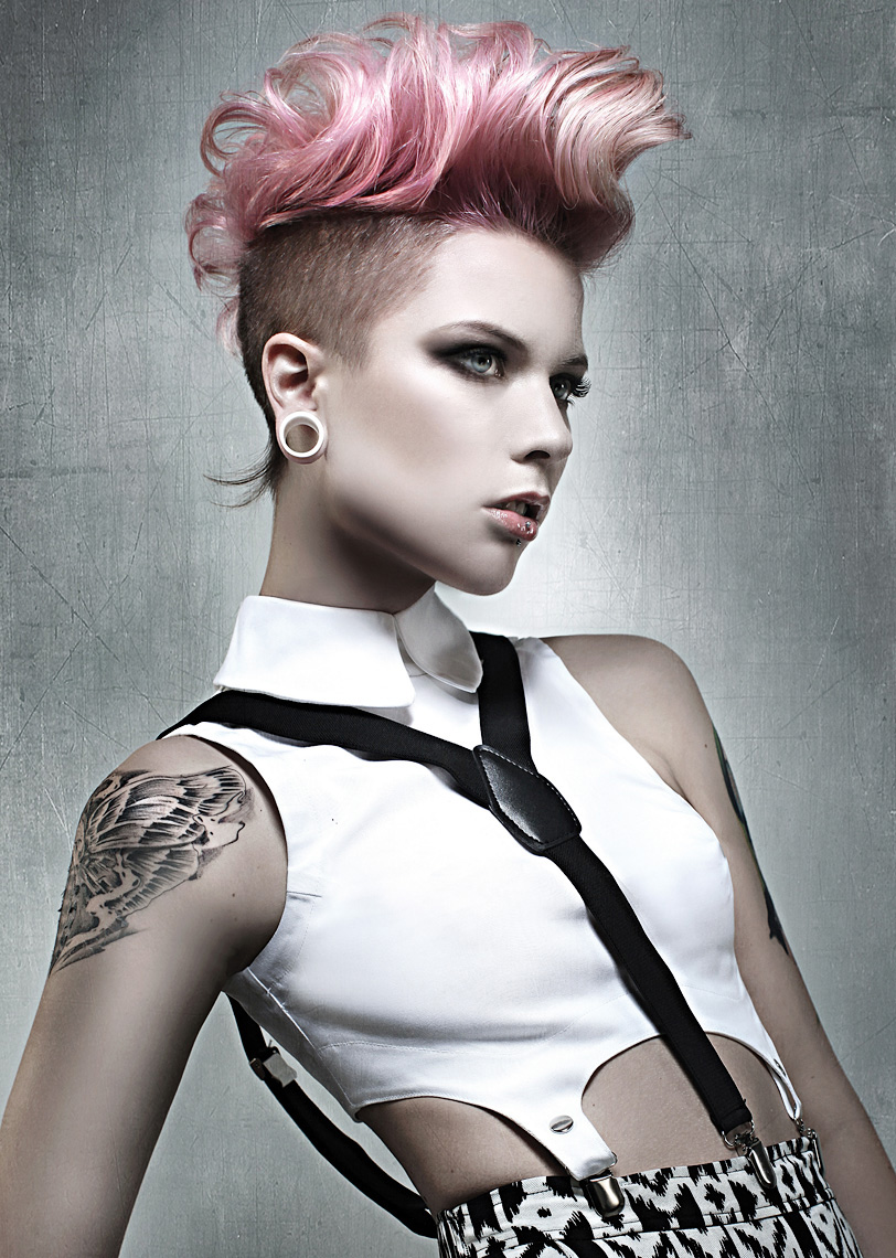 Award winning hair photography, Toronto, London, Ontario